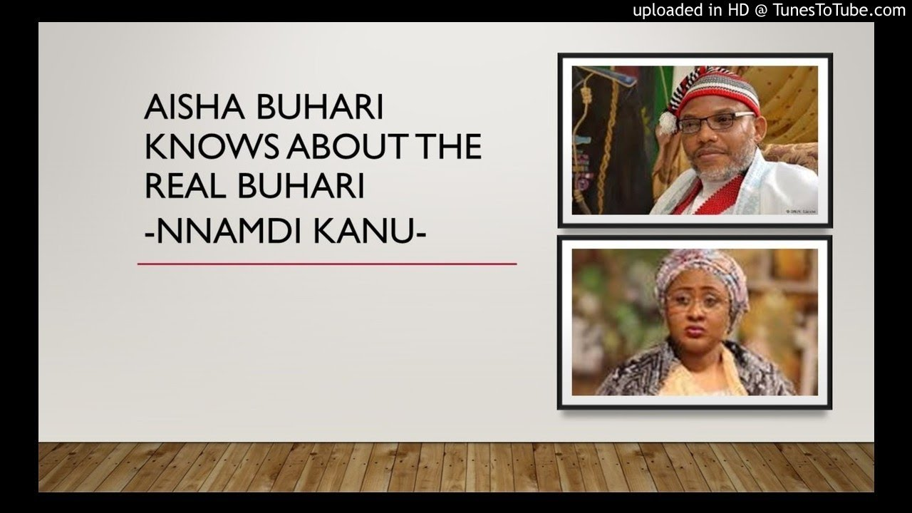 Aisha Buhari Knows About The Real Buhari & Jubril Al Sudani