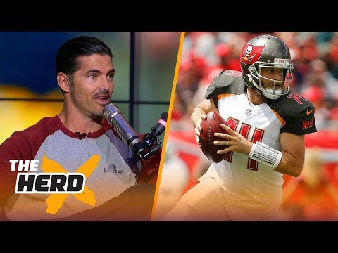 David Carr talks Fitzmagic, Patrick Mahomes, Week 2 QB play | NFL | THE HERD