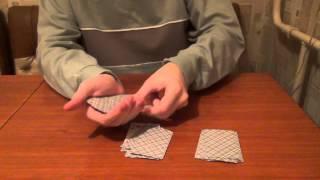 Простые, но эффектные карточные фокусы от Вячеслава.