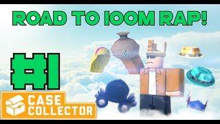 Roblox | Case Collector ROAD TO 100M RAP!! #1