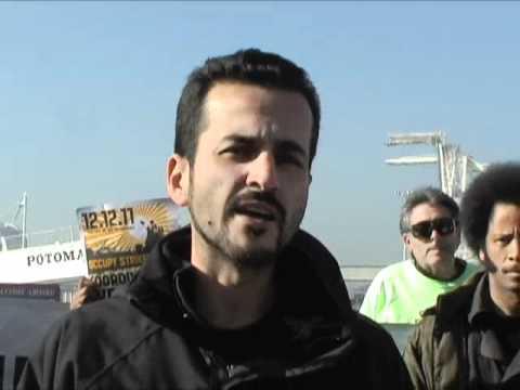 Unionists Speakout  For Dec 12 West Coast Port Shutdown