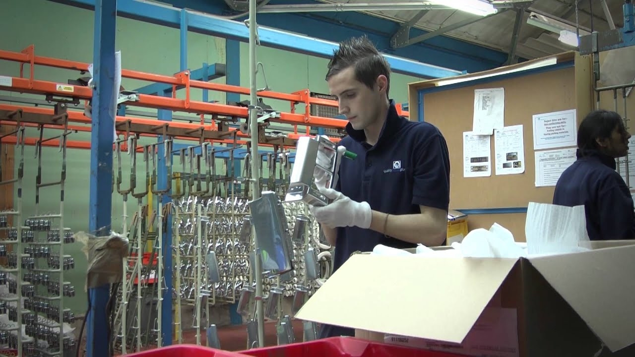 Electroplating of Plastic Components at Quality Plated Plastics  sc 1 st  YouTube & Electroplating of Plastic Components at Quality Plated Plastics ...