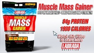 Muscle Mass Gainer - Labrada Nutrition