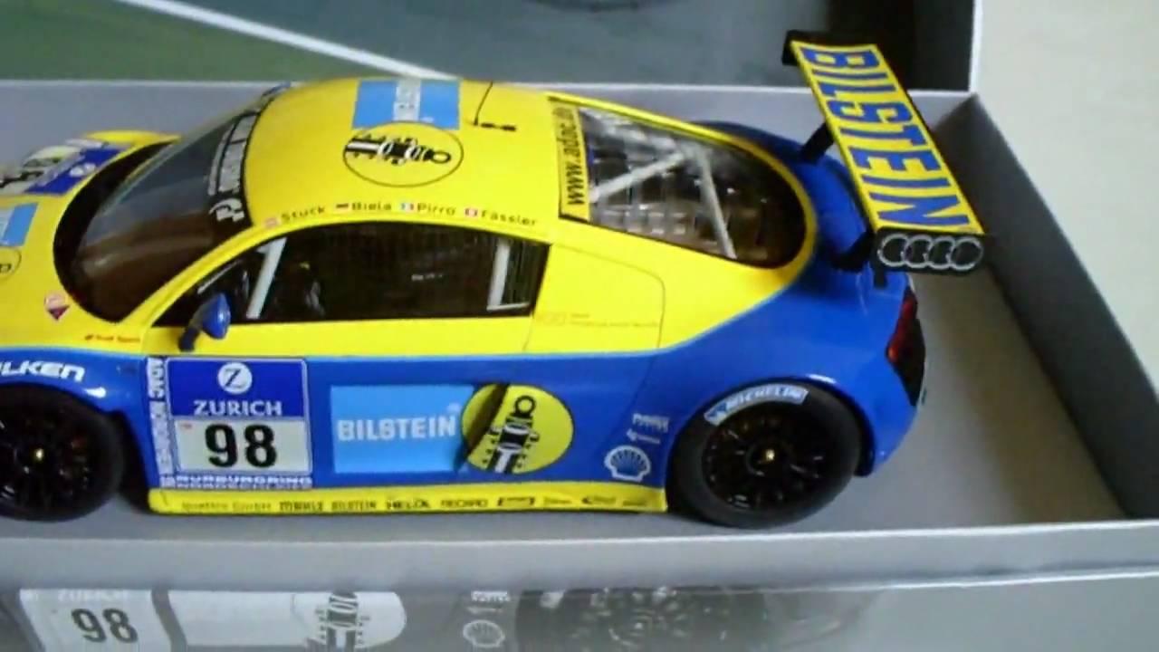 Audi R8 Lms Bilstein 98 24h N 252 Rburgring 2009 Model