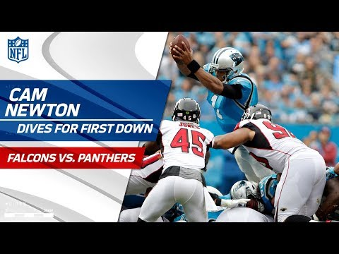 Cam Newton Pleads to Coach Rivera to Go for It on 4th Down! | Falcons vs. Panthers | NFL Wk 9