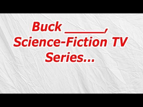 Buck, Science Fiction TV Series (CodyCross Answer/Cheat)