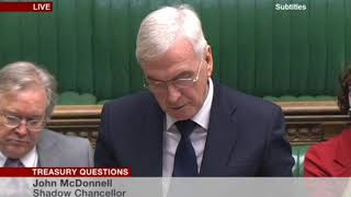 #Carillioncollapse Shadow chancellor John Mcdonnell MP tries to get answers from the government