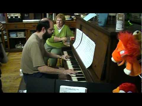 It's Bye-Bye Baby, San Francisco Giants Fight Song, piano sight-read by Tom Brier
