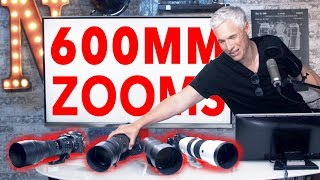 600mm ZOOM review! Sony 200-600 | Nikon 200-500 | Sigma & Tamron 150-600