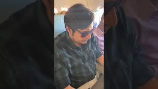 Kunal kamra and Arnab Goswami Complete Video in flight