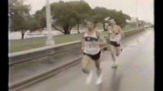 Closing stages of the 1984 Chicago Marathon