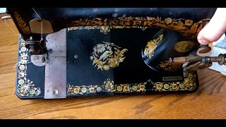 CLEANING SERIES: How to properly clean the painted finishes on a vintage sewing machine.