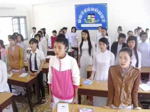 Trung cấp Sư phạm mầm non Dak Lak, Lớp B3.38, Bài hát Mưa rơi, D.ca Xá
