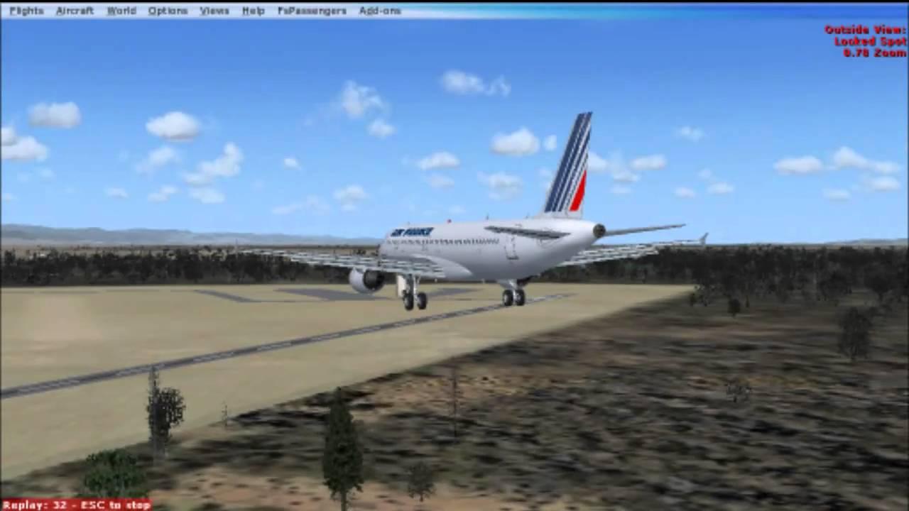 air france flight 296