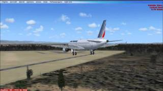 FSX - Air France 296 Fly-By
