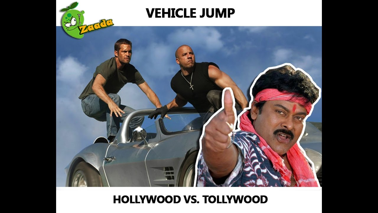 Vehicle Jump Hollywood Vs Tollywood Worst Illogical Action Scene