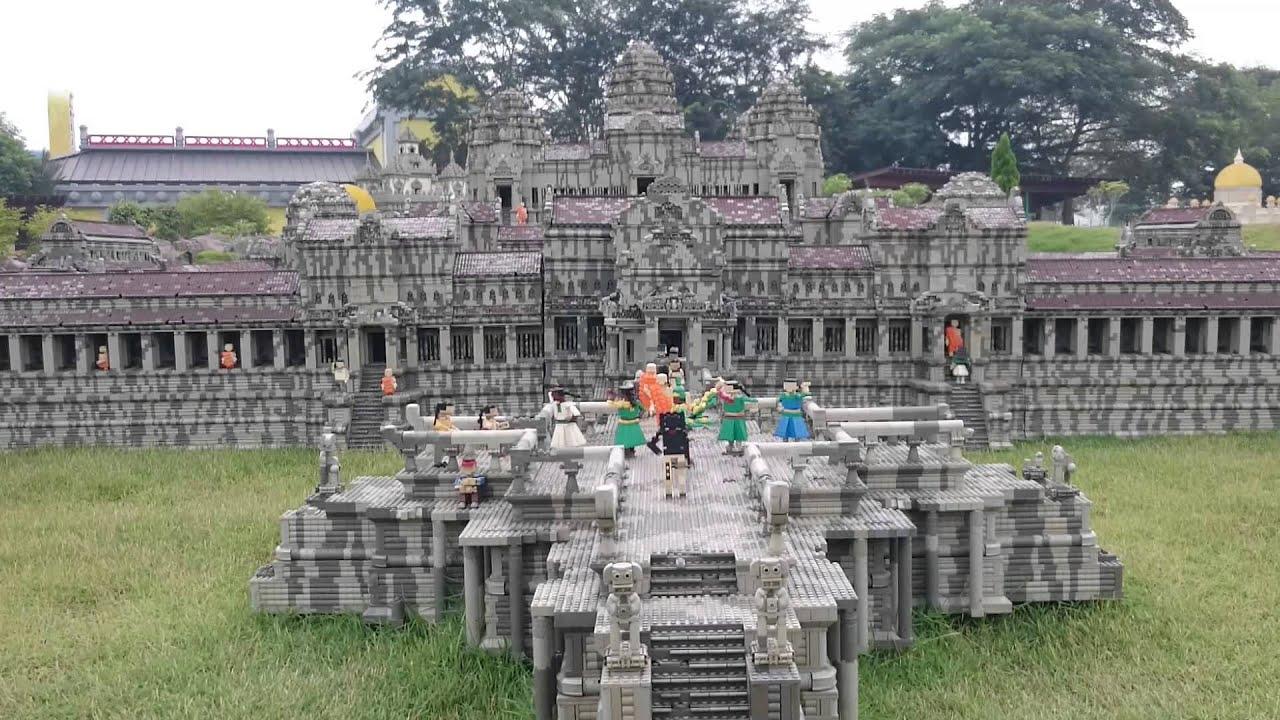 Legoland Malaysia: Angkor Wat - YouTube