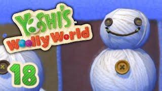 Schneewollschlacht im Watteland! | #18 | Yoshi's Woolly World