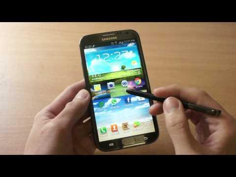 Tính năng trên Galaxy Note 2