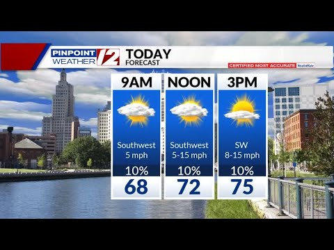 WEATHER NOW: Early Fog, Mild Weekend
