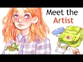 Meet The Artist tag + 50 facts about me!