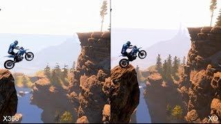 Trials Fusion Xbox 360 vs Xbox One Comparison
