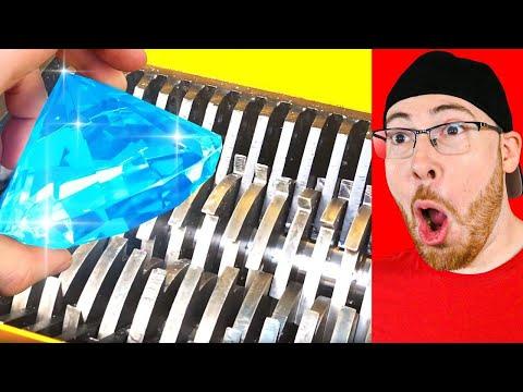 DIAMOND Vs Shredding MACHINE Reaction!