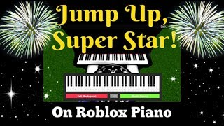 Jump Up, Super Star - Super Mario Odyssey on Roblox piano