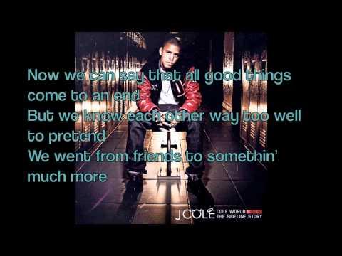 J Cole - Nothing Lasts Forever LYRICS ON SCREEN