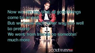 J Cole - Nothing Lasts Forever LYRICS ON SCREEN