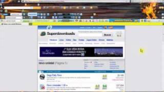 desinstala  prgrama site  http://www.superdownloads.com.br/