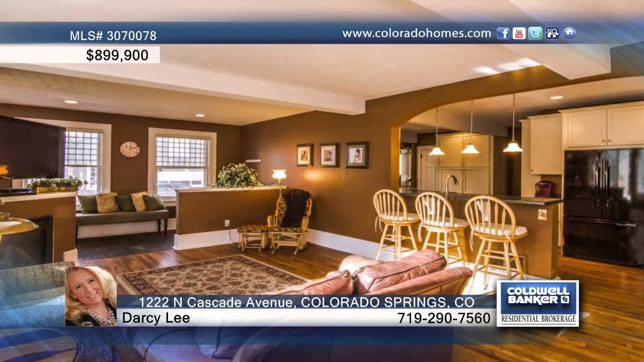 1222 n cascade avenue colorado springs co homes for sale youtube