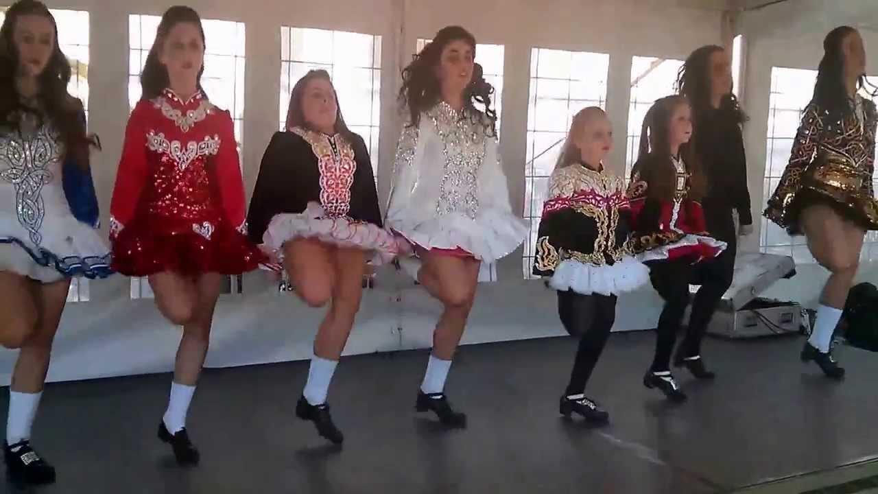Irish Dancing At St Patrick S Day 2014 In London Youtube