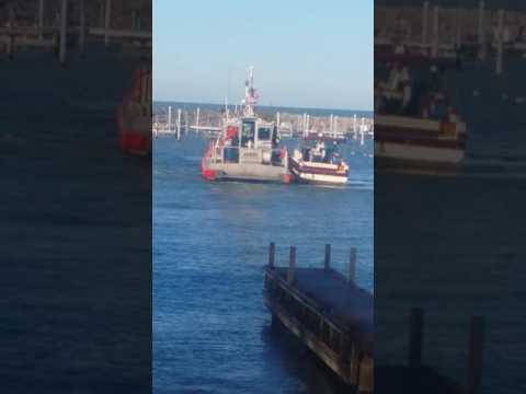 Cleveland Coast Guard rescue Neff Rd. Marina