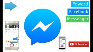 Facebook tips || How to forward a message on Facebook messenger