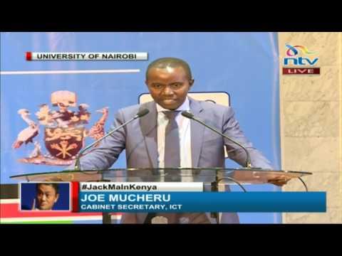 ICT CS Joe Mucheru: Jack Ma's visit is an indication that Kenya is doing well economically