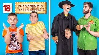 أنواع الناس في السينما