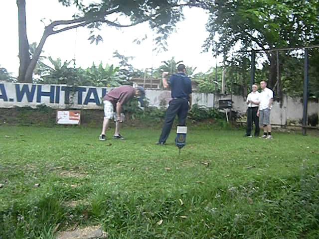 Golfing in Kumasi, Ghana