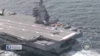 'UFO' spotted onboard US Navy aircraft carrier, EXTRAORDINARY YouTube footage shows
