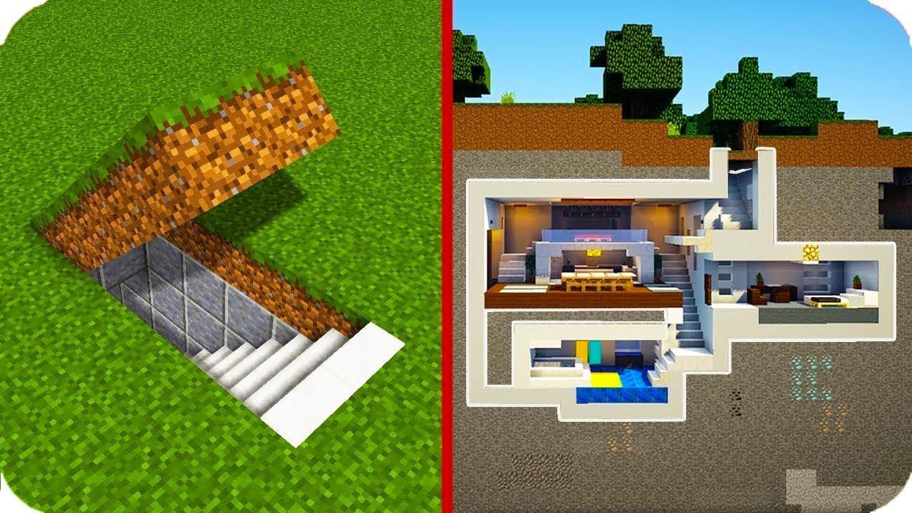 MODERN EN GİZLİ YERİ NASIL YAPILIR? ???? Minecraft