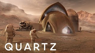 NASA wants to 3D print houses on Mars