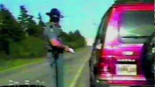 Funny Maine State Trooper Traffic Stop Officer Abused by Speeding Stop
