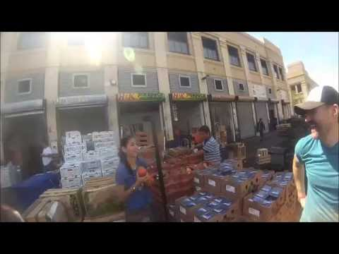 South Central Vegans @ The Los Angeles Whole Sale Produce Market with Plantbased Companion Part 3 Ul