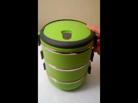 Bubee stainless steel lunch box 850ml