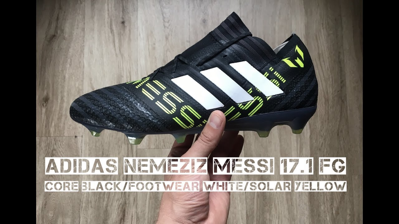 dcc0385073df Adidas Nemeziz Messi 17.1 FG   UNBOXING & ON FEET   football boots   2017    HD