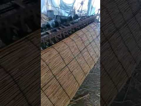 Reed curtain making machine Reed weaving machine
