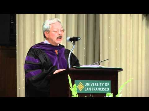 Ed Lee, San Francisco Mayor, Delivers USF Commencement Speech [talk]