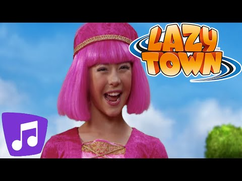 Lazy Town   Here We Go Music Video