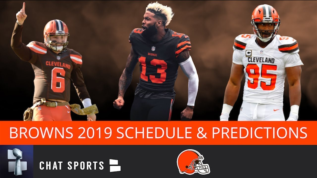 Cleveland Browns 2020 Schedule.Cleveland Browns Schedule Breakdown Predictions For The Browns 2019 Nfl Schedule