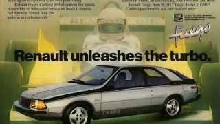 Renault Fuego - Lost Cars of the 1980s